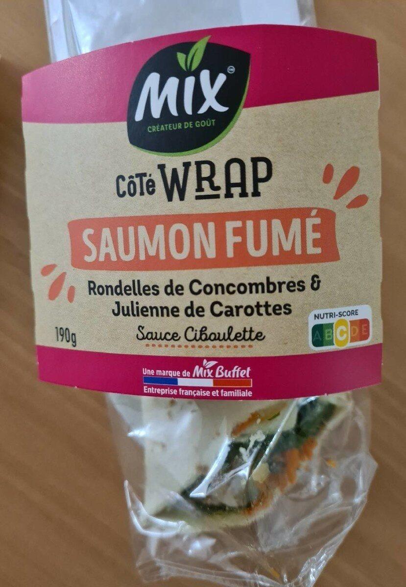 Wrap saumon fumé - Produit - fr