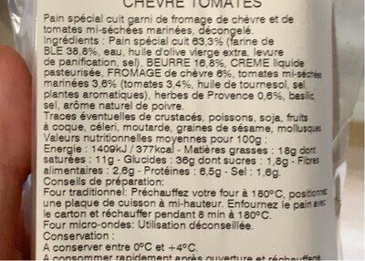 Mini-préfou Chèvre tomates basilic - 6