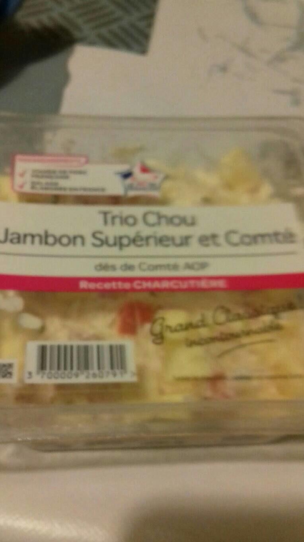 Trio chou jambon supérieure - Produit - fr