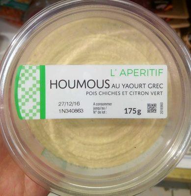 Houmous au yaourt grec - Product