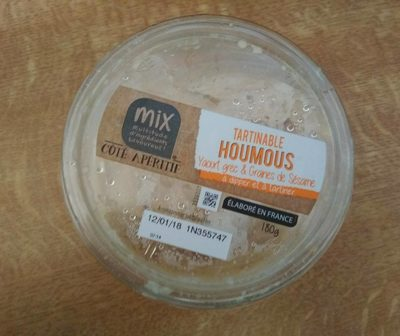 Houmous - Produit