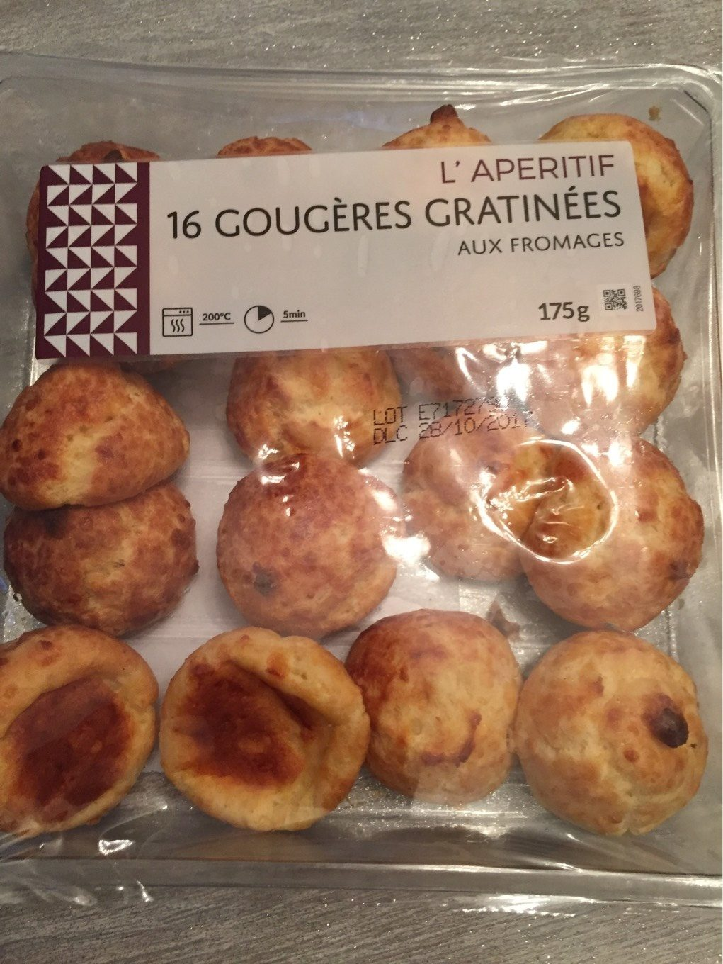 Gougeres gratinees fromage - Product