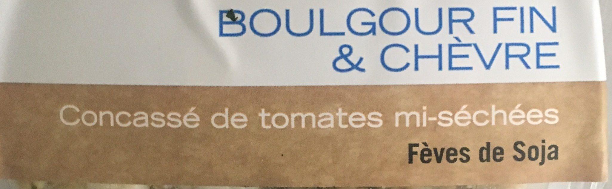 Boulgour fin et chèvre - Product