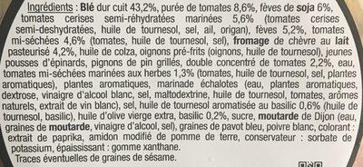 Boulgour fin et chèvre - Ingredients