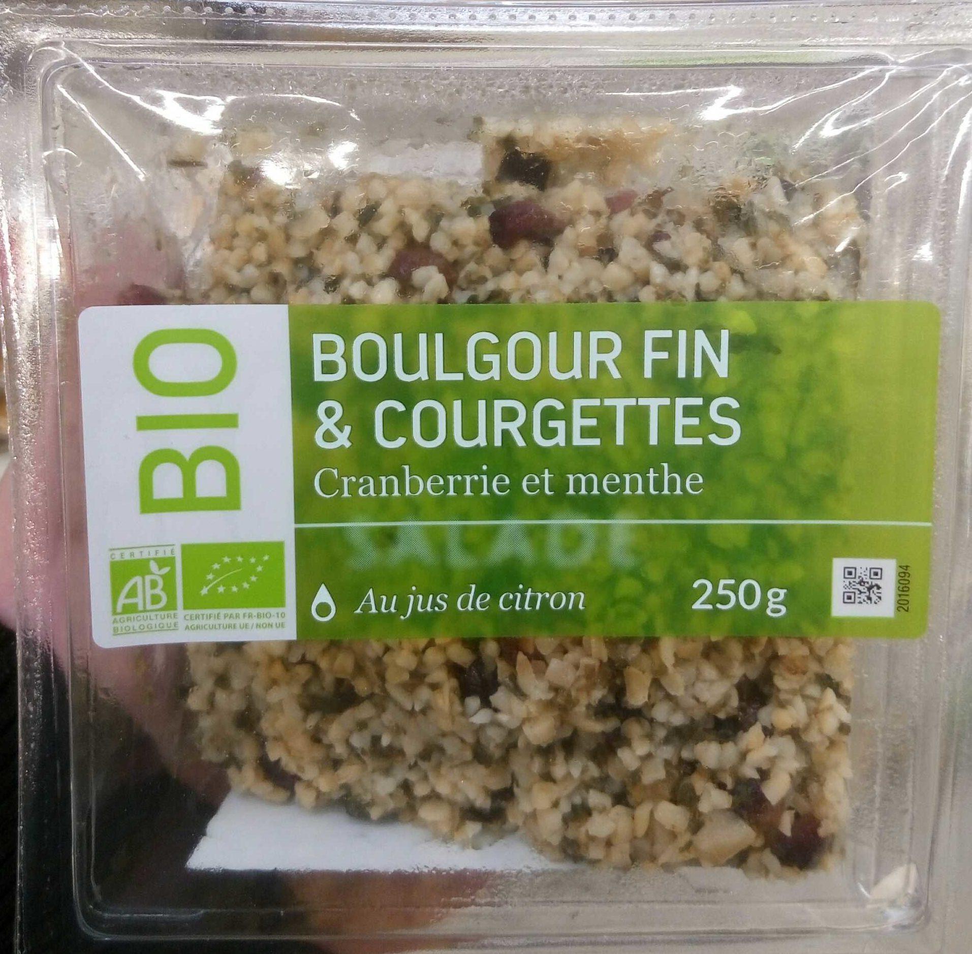 Salade de boulgour courgettes - Product