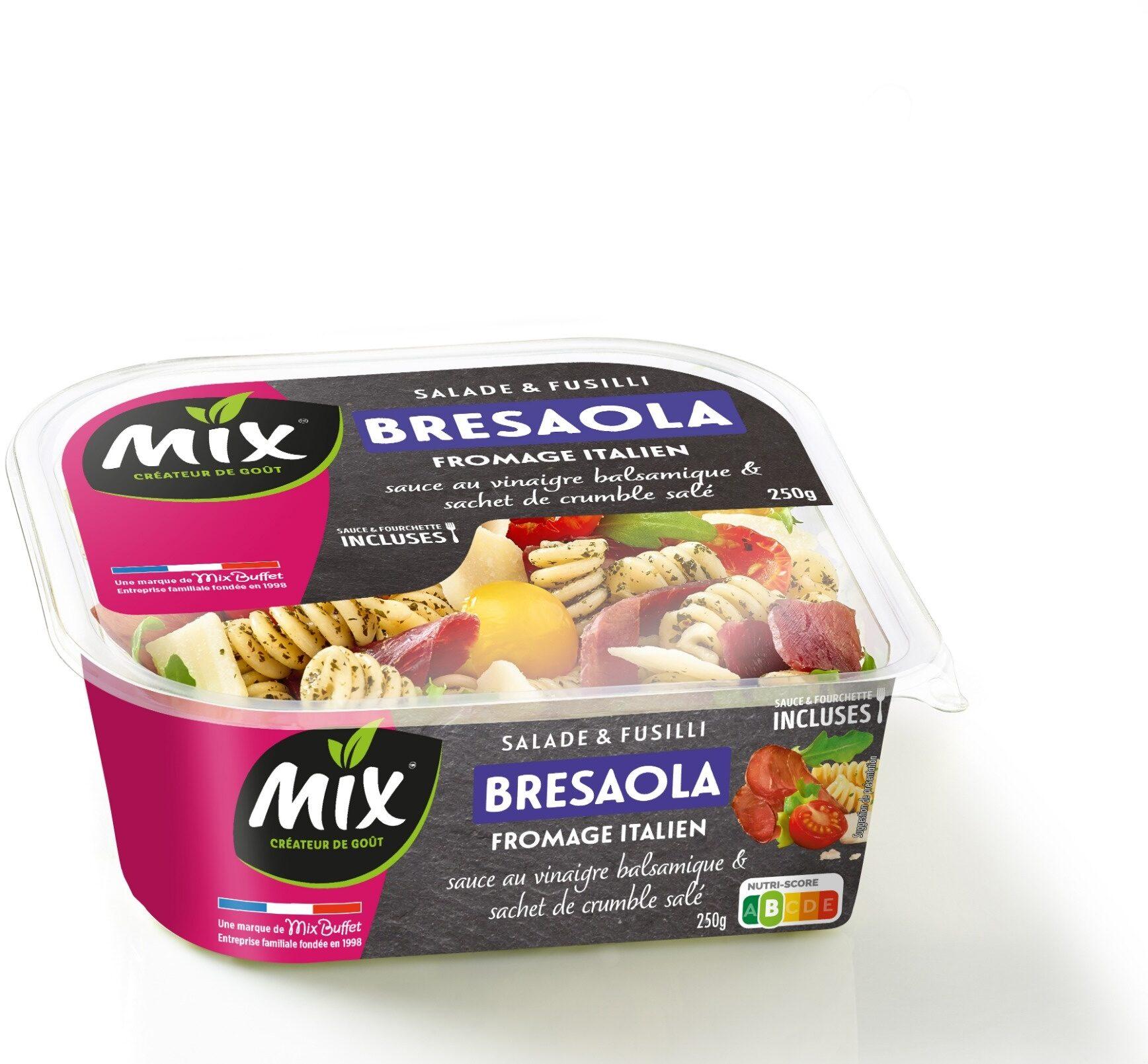Salade & Fusilli Bresaola Fromage Italien, 250g - Produit - fr