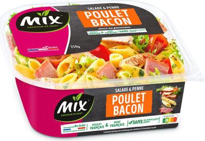 Salade Bol Poulet Bacon - Produit - fr