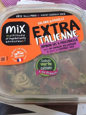 Extra salade & Fusilli Italienne, 330g - Product