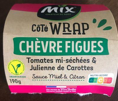 Côté Wrap Chèvre Figues, 190g - Produit - fr