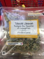 Taboulé tomate/courgettes Mix Buffet - Product