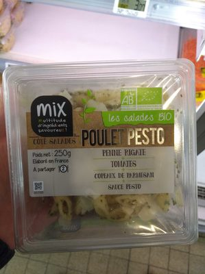 Les Salades bio Poulet Pesto - 2