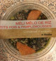Meli melo de riz petits pois et pamplemousses - Produit - fr