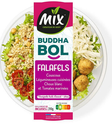 Buddha bol Falafels, couscous et chou blanc - Produit