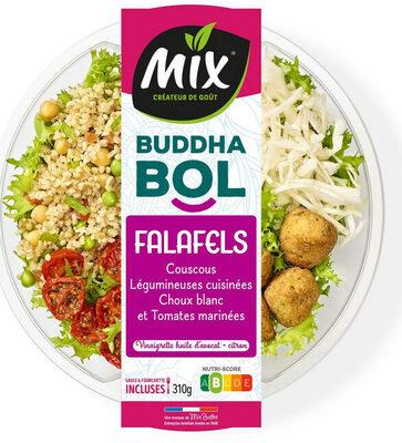 Buddha bol Falafels, couscous et chou blanc - Ingrédients