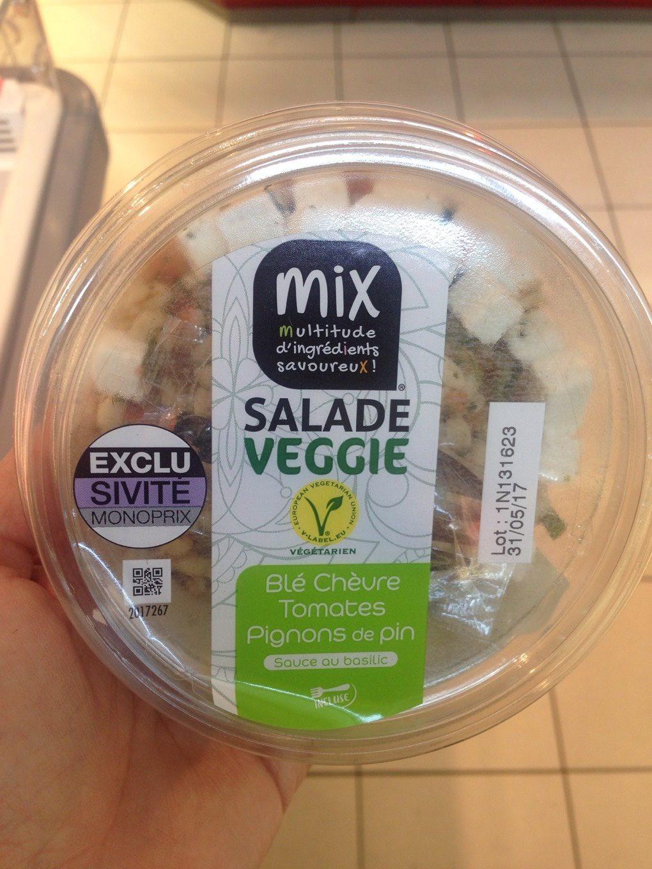 Salade Veggie blé chèvre - Produit