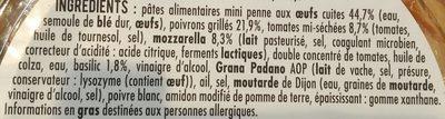 Salade pasta - Ingrédients - fr