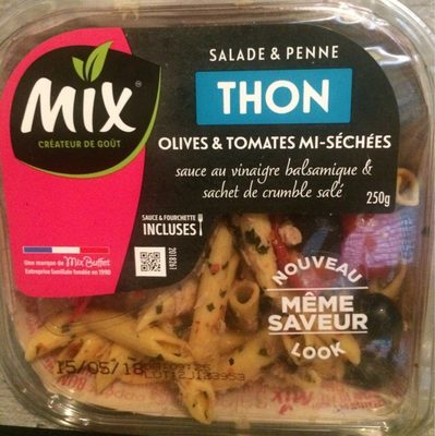 Salade & Penne Thon, 250g - Product - fr