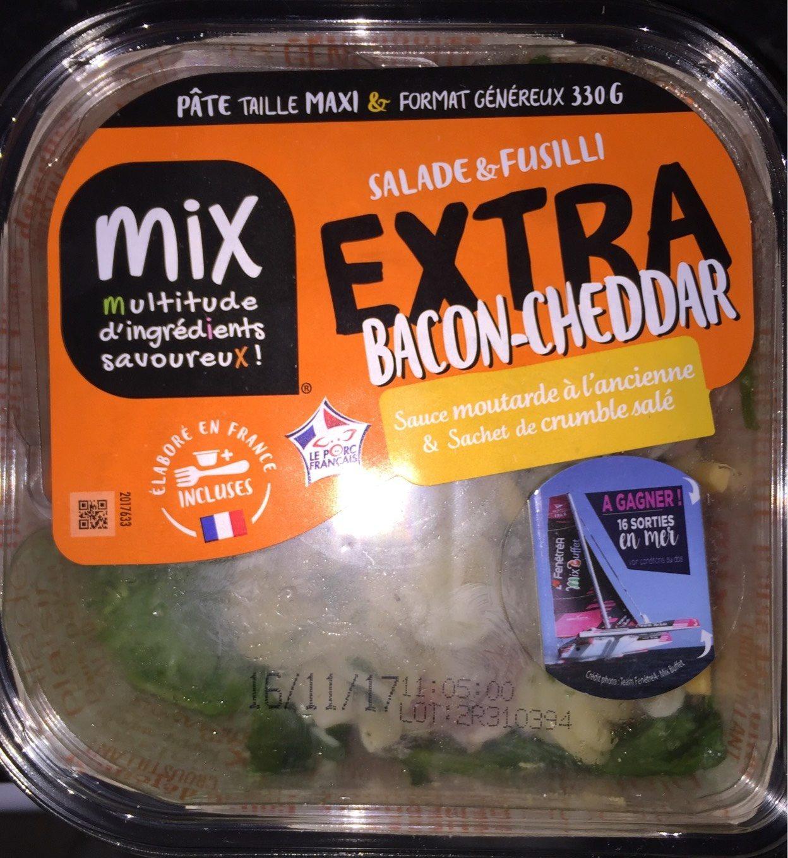 Extra Salade & Fusilli Bacon-Cheddar, 330g - Produit - fr