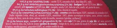 Buddha Bol Crevettes - Ingrédients