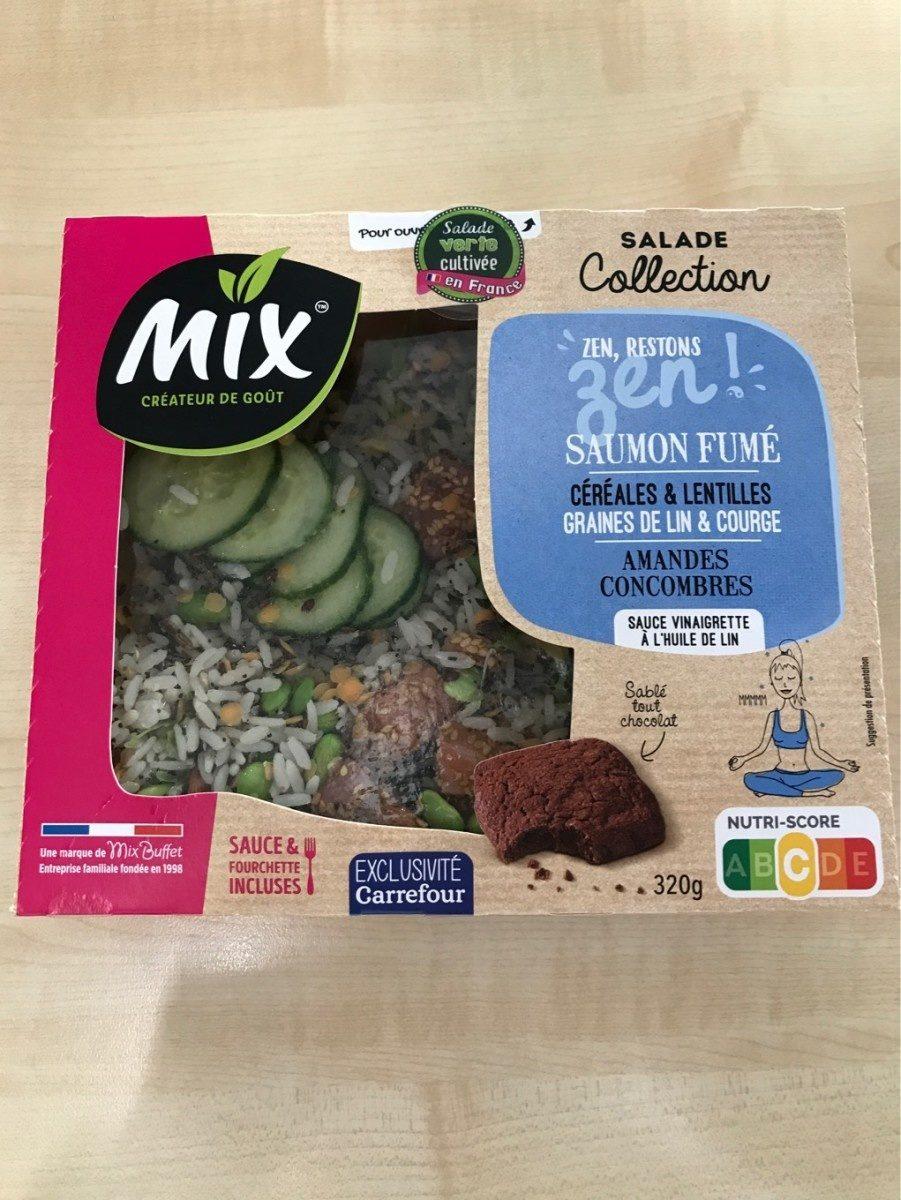 Salade collection Zen, Saumon Fumé, 320g - Produit - fr