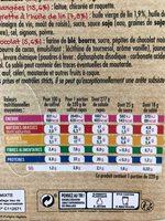 Salade collection Zen, Saumon Fumé, 320g - Informations nutritionnelles - fr