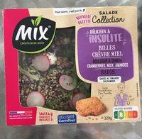 Salade collection, Délicieux & Insolite, Billes Chèvre Miel, 320g - Produit - fr