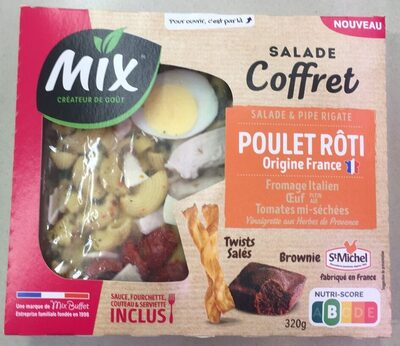 Salade Coffret Poulet Rôti - Produit - fr