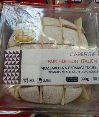 Pain Hérisson - Italien - Mozzarella & Fromage Italien - Product