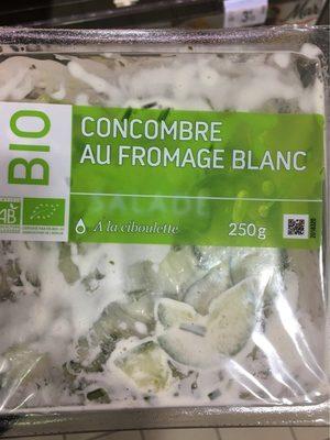 Concombre au fromage blanc - Produit - fr