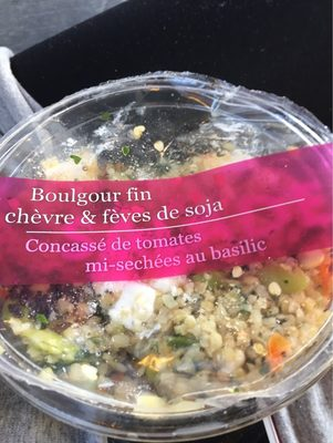 Boulgour fin chevre et feves de soja - 1