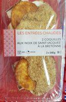 Coquilles Noix de St Jacques à la Bretonne - Product - fr