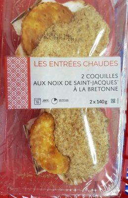 Coquilles Noix de St Jacques à la Bretonne - Product