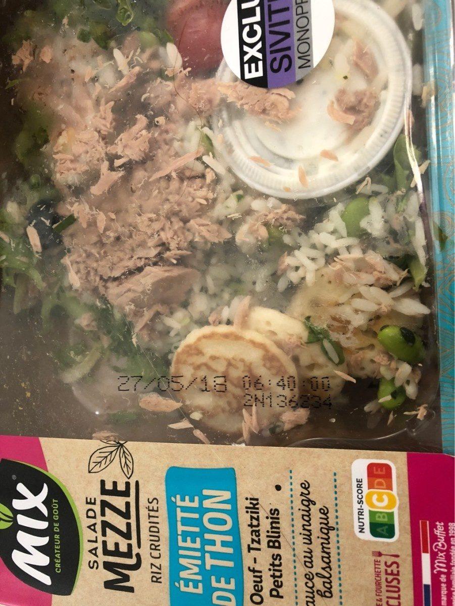 Salade Mezze Emietté de Thon, 320g - Produit - fr