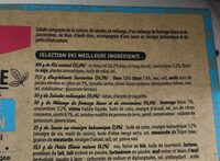 Salade Mezze Emietté de Thon, 320g - Ingrédients - fr