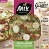 Pizza del Gusto - chèvre lardons - Produit