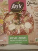 Pizza del gusto Chèvre Lardons - Produit - fr