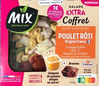 Salade et pipe rigate poulet roti - Product