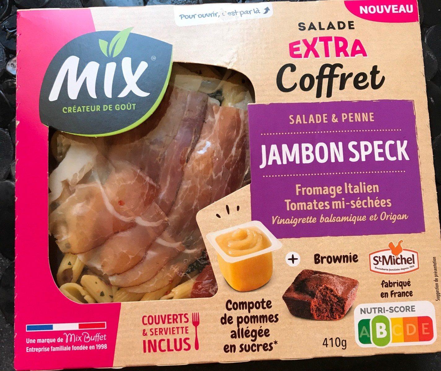 Salade extra coffret jambon speck - Produit - fr