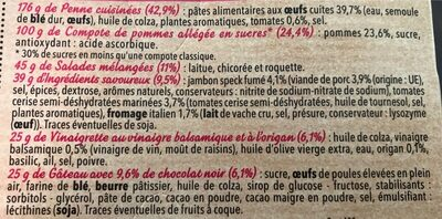 Salade extra coffret jambon speck - Ingrédients - fr