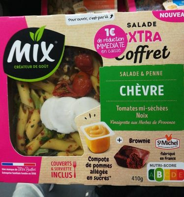Salade extra coffret chèvre penne - Product