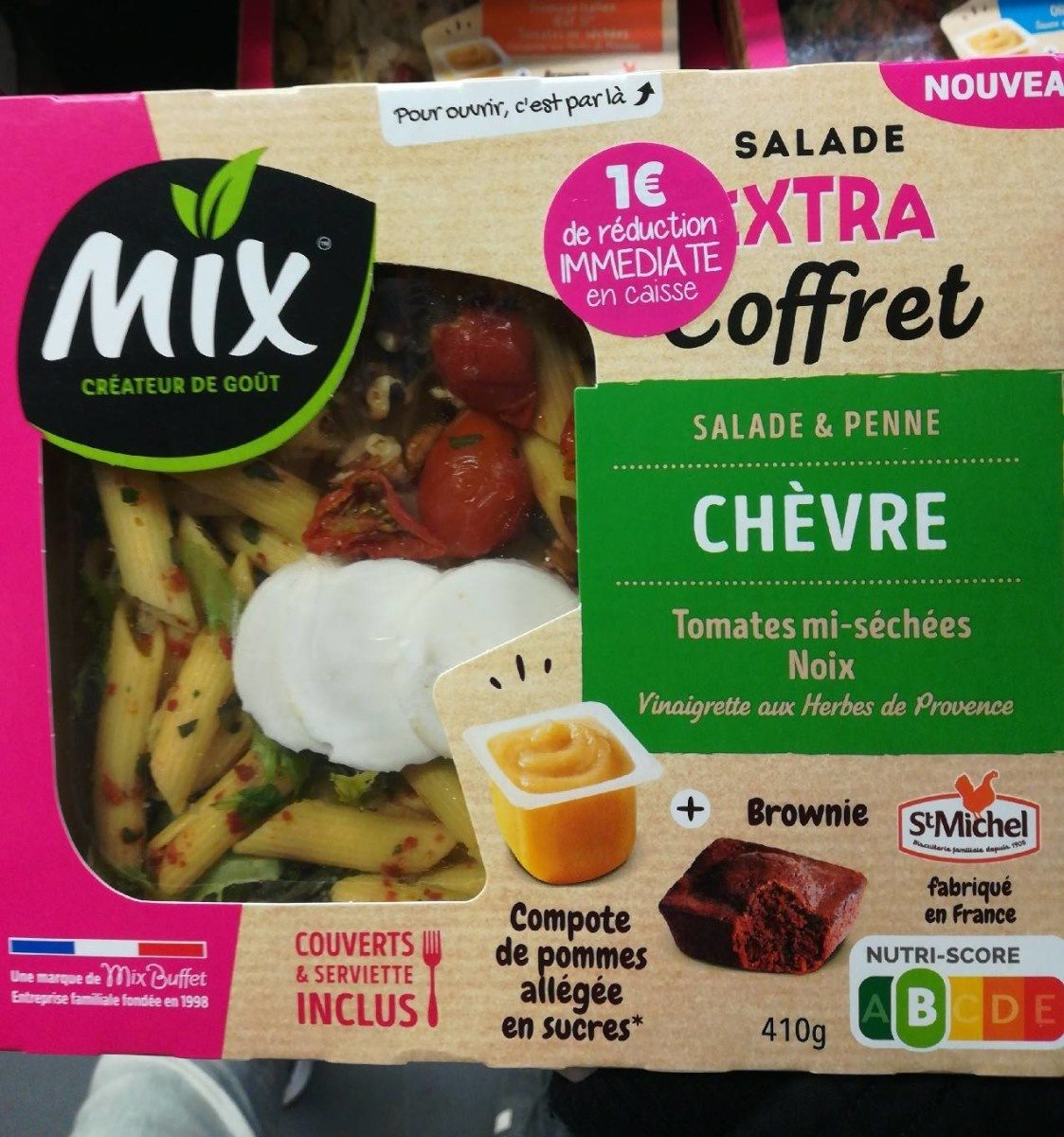 Salade extra coffret chèvre penne - Product - fr