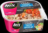 Mix - Salade et céréales Thon  Avocat - Product