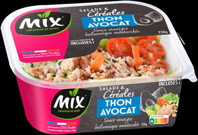 Mix - Salade et céréales Thon  Avocat - Produit - fr