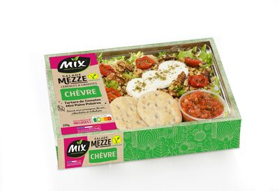 Salade mezze chèvre - Produit - fr