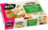 Salade Coffret Poulet Avocat MIX - Produit - fr