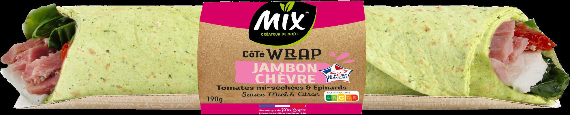 Côté Wrap jambon-chèvre - Produit - fr