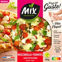 Pizza del Gusto - mozzarella tomates - Produit - fr