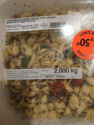 Conghile et quinoa rouge - Product - fr
