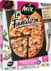 Pizza Famillizza Jambon supérieur Mozzarella - Product