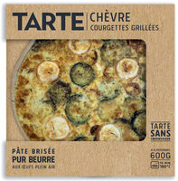 Tarte Chèvre Courgettes Grillées - Product - fr